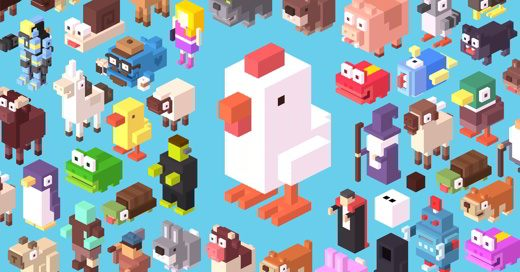 Crossy Road Personaggi segreti
