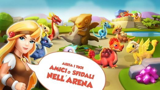 Arena Dragon Mania Legends