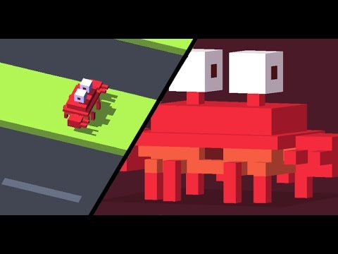 Il granchio Crossy Road