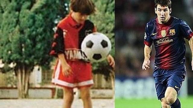 Messi a 10 anni