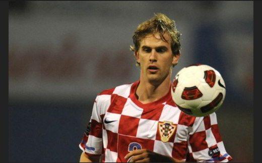 Strinic con la Croazia