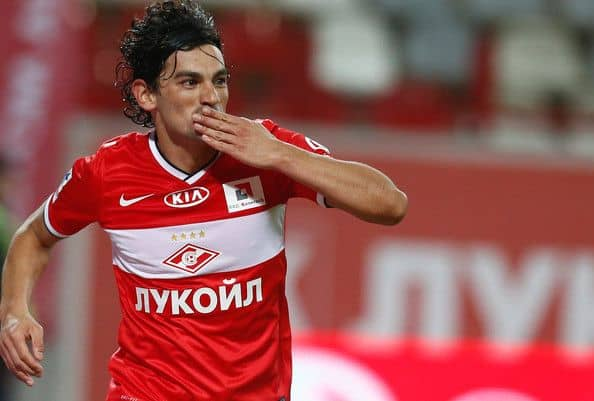 Tino Costa allo Spartak Mosca