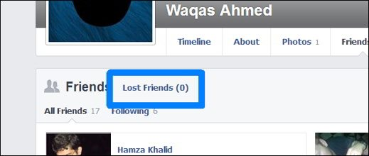 Unfriend Notify for Facebook lost