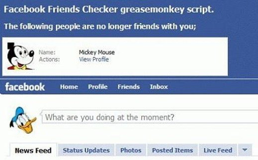 facebook friends Checker