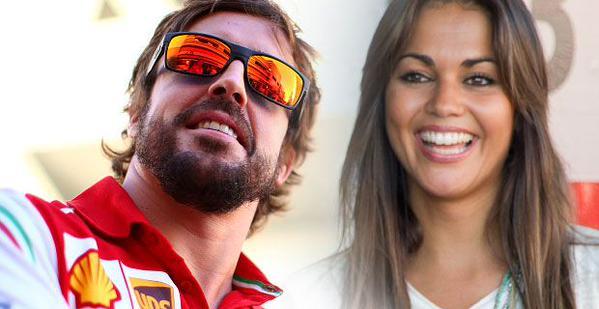 Lara Alvarez e Fernando Alonso