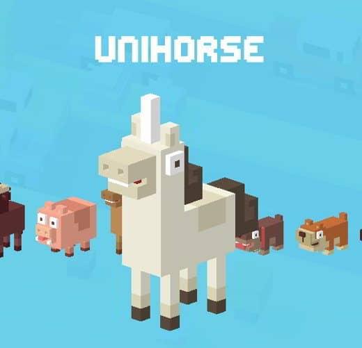 12 CrossyRoad Unicorno - Tutti i personaggi base di Crossy Road: caratteristiche e dettagli