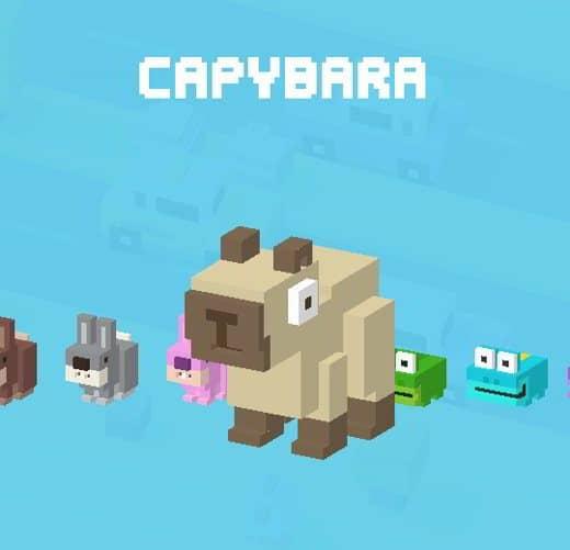 23 CrossyRoad Capybara - Tutti i personaggi base di Crossy Road: caratteristiche e dettagli