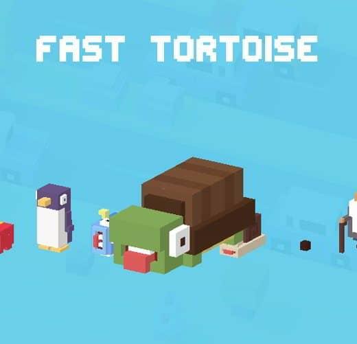 29 CrossyRoad tartaruga sprint - Tutti i personaggi base di Crossy Road: caratteristiche e dettagli