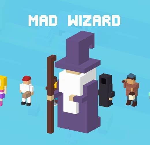 35 CrossyRoad mago folle - Tutti i personaggi base di Crossy Road: caratteristiche e dettagli