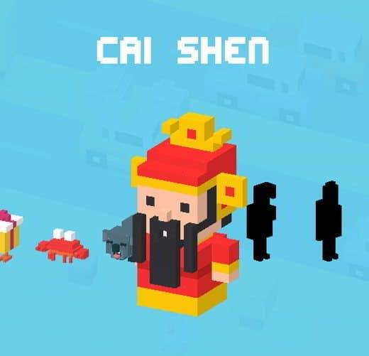 CrossyR Cai Shen - Tutti i personaggi sbloccabili e segreti di Crossy Road: caratteristiche e dettagli