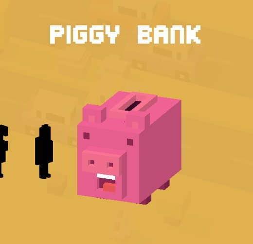 CrossyR PiggyBank - Tutti i personaggi sbloccabili e segreti di Crossy Road: caratteristiche e dettagli