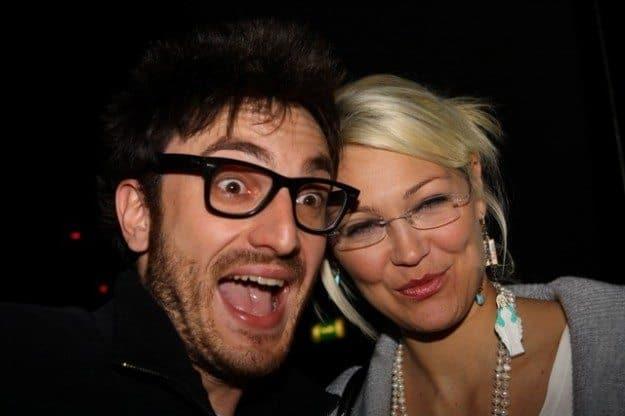 Nicola Molinari e Federica Rosatelli