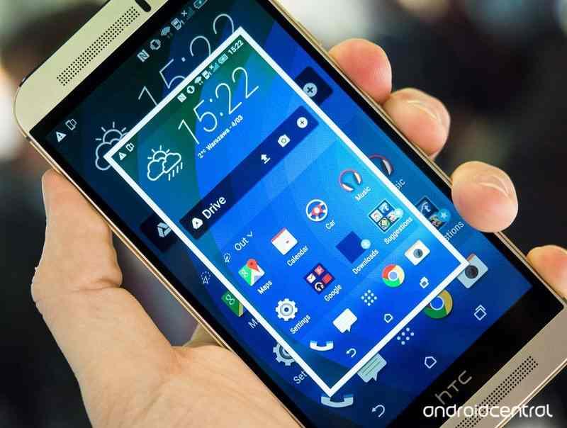 Screenshot HTC One M9