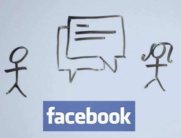 Nascondere messaggi Facebook