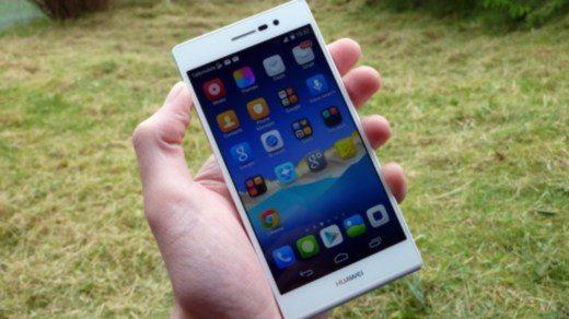 Huawei cattura schermata