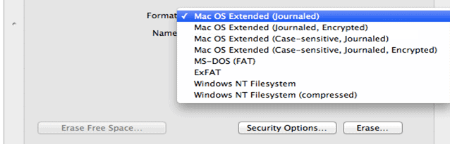 Mac OS Extended