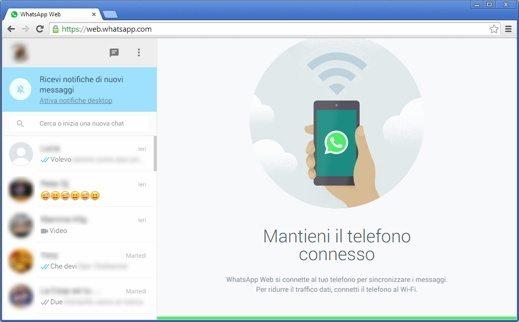 Whatsapp Web chat - WhatsApp Web: come inviare e ricevere messaggi WhatsApp sul PC