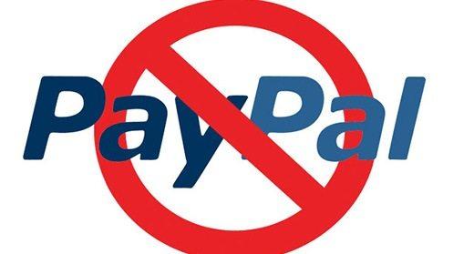 chiudere conto PayPal