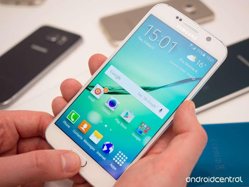 screenshot S6 e S6 Edge