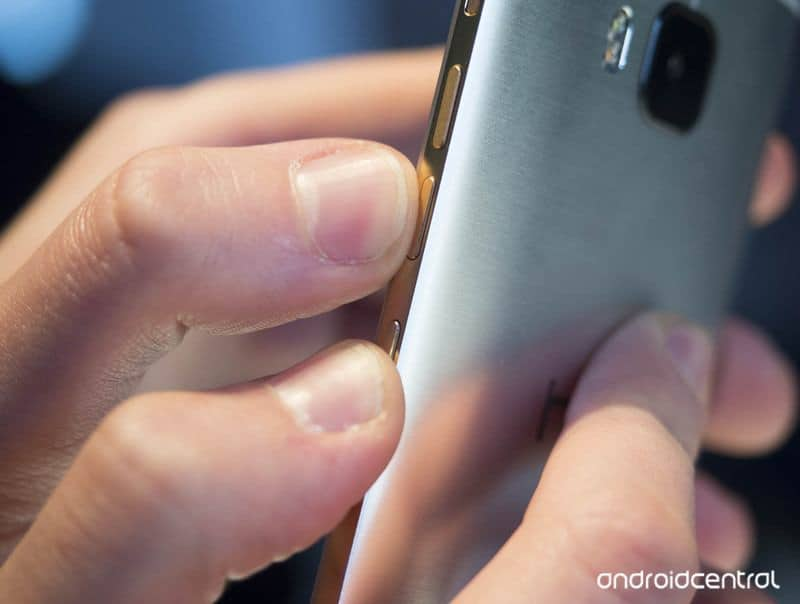 cattura schermata HTC One M9