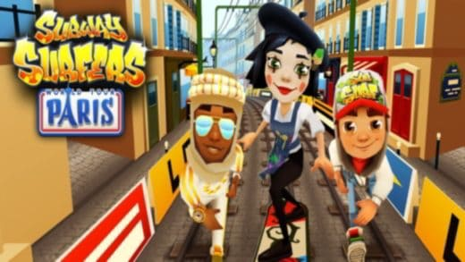 subway surf trucchi