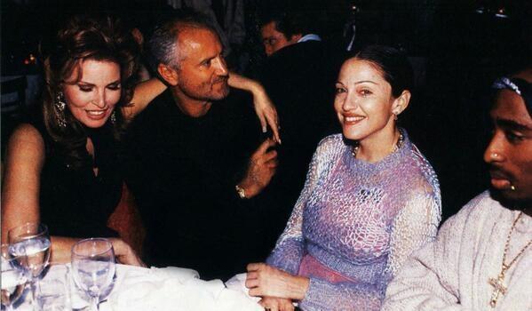 Versace e Madonna