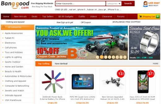 negozi cinesi online affidabili