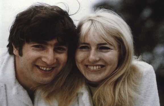 John Lennon e Cynthia