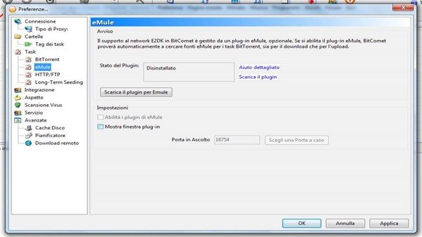 Come sfruttare bittorrent ed emule in un unico programma - La finestra di fronte torrent ...