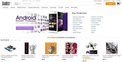 comprare da siti cinesi