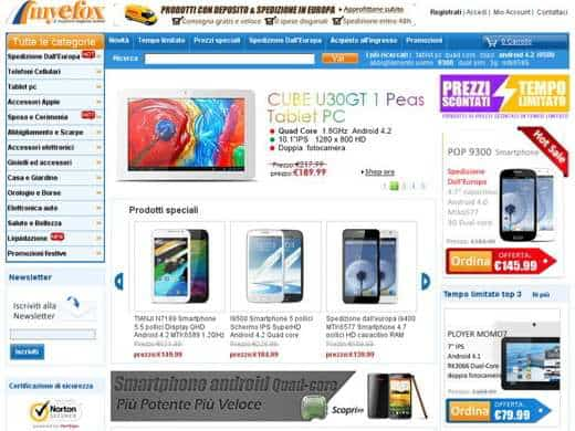 cina elettronica online