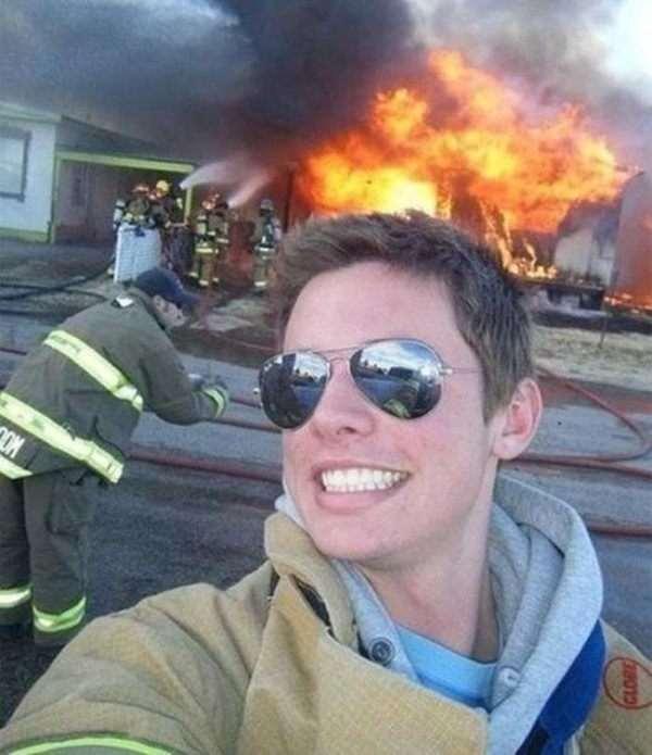 selfie più strani