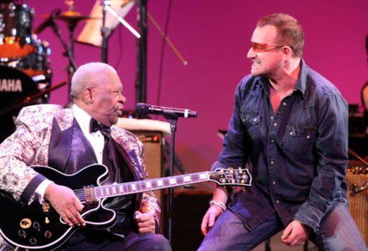 B.B.King e Bono Vox