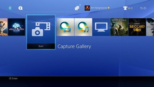 PS4 Capture Gallery