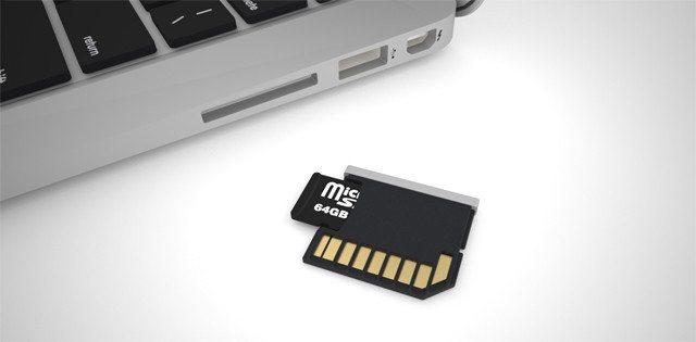 Formatta Micro SD