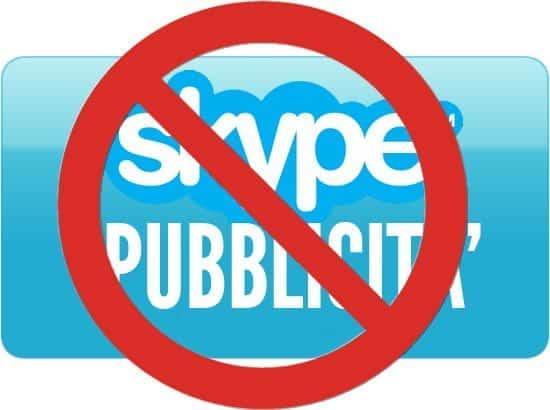 Pubblicità Skype