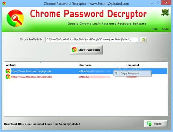 come recuperare password chrome