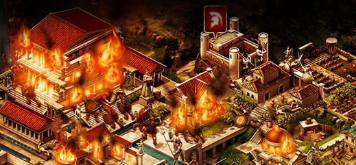Game of War Fire Age - Attack
