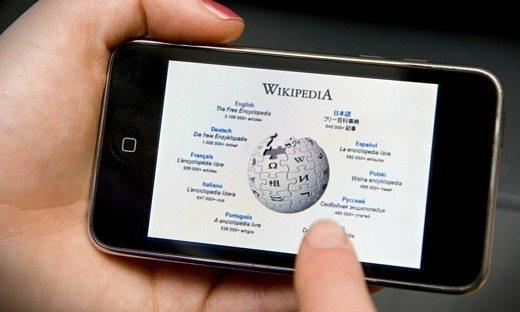 Wikipedia su smartphone