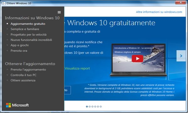 Windows 10 controlla il tuo PC