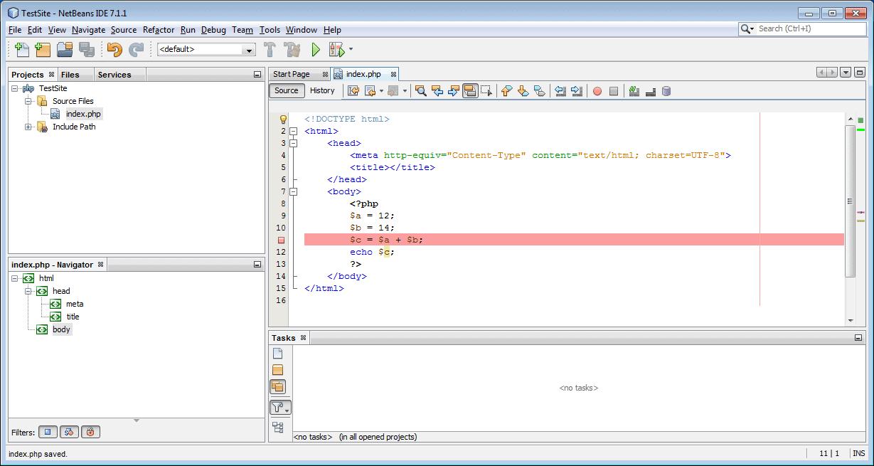 NetBeans con XDebug