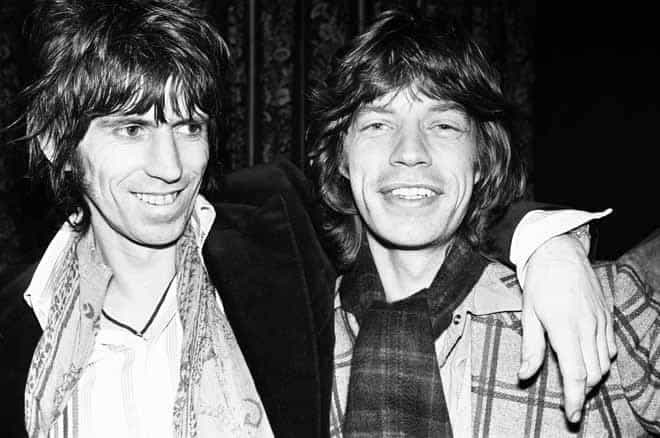Keith Richards e Mick Jagger