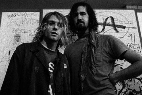 Kurt Cobain e Chris Novoselic
