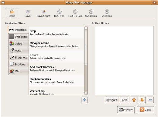 audiovix filters