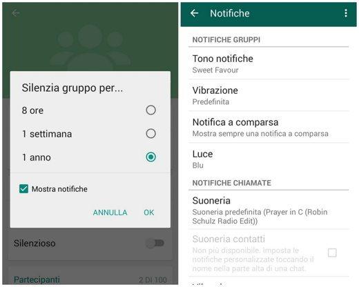 Notifiche Personalizzate WhatsApp