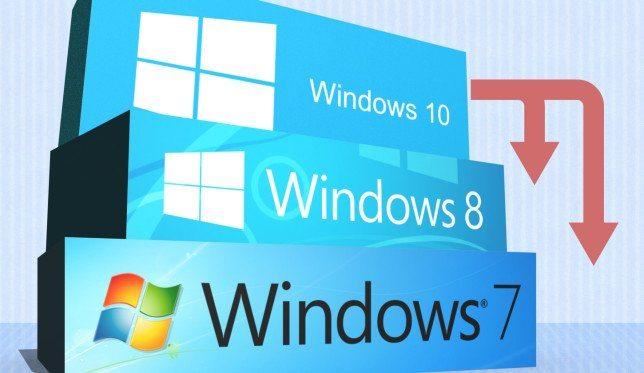 Da Windows 10 a Windows 7