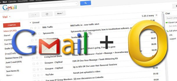 Gmail e Outlook