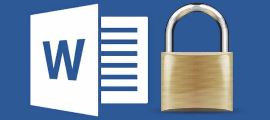 Sbloccare documento word