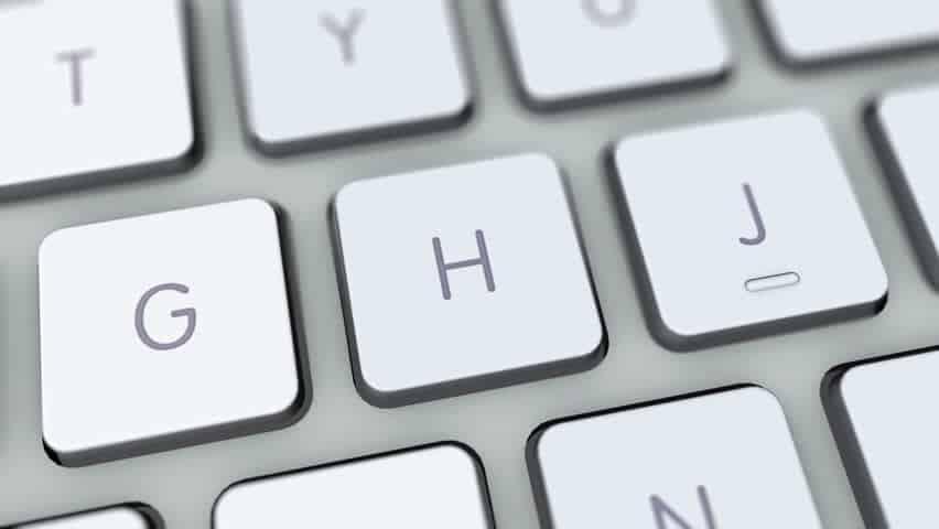 Scorciatoie da tastiera browser