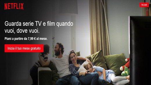 Come fare la prova gratuita su Netflix